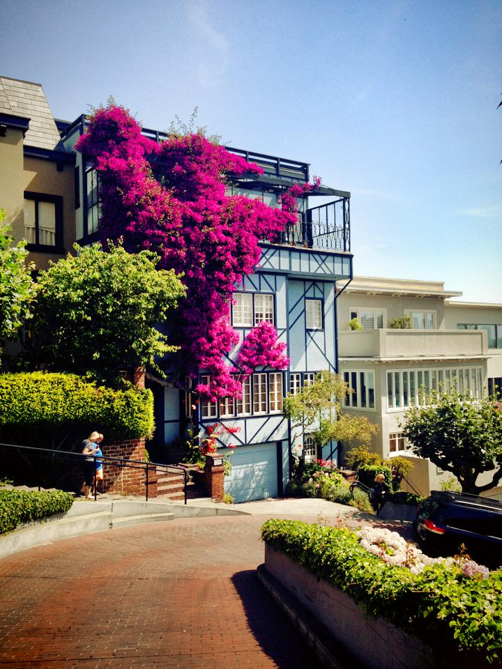 Lombard Crookedest Street