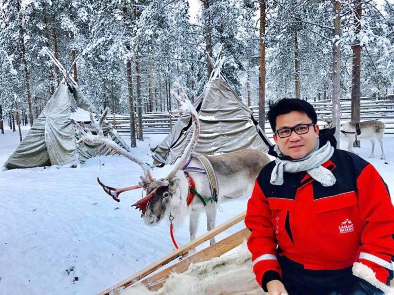 Excursion to Reindeer & Husky farm