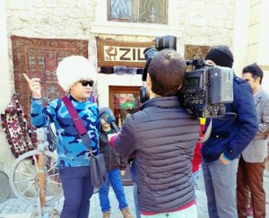 Interview at Baku, Azerbaijan