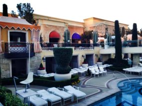 Wynn Heated Pool Las Vegas