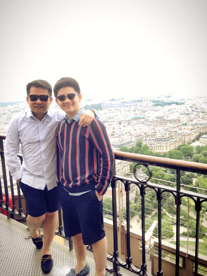 The Summit of the Eiffel Tower 2014