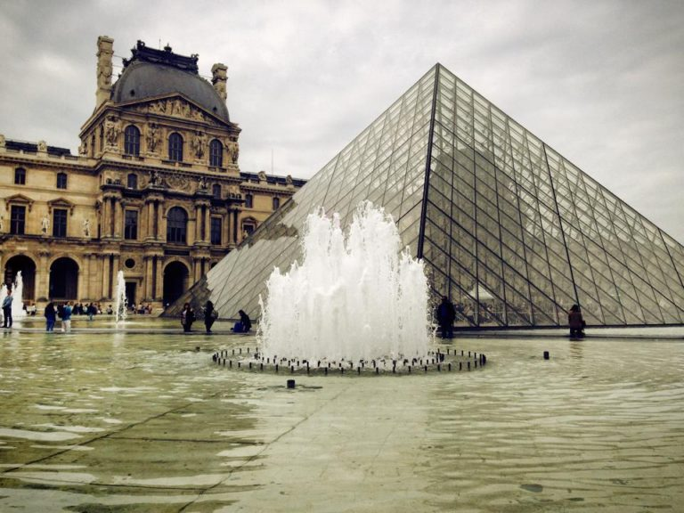 Louvre Museum of Art 2014