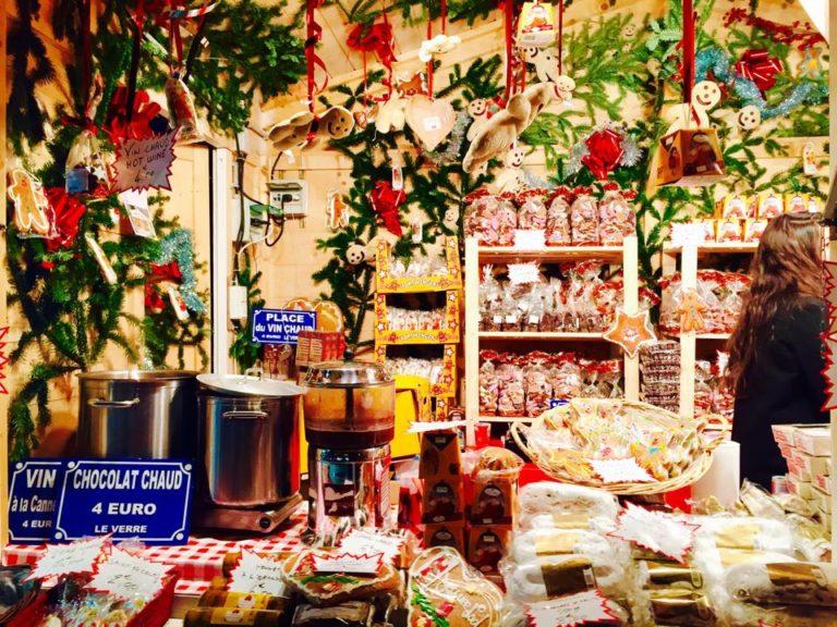 Champ Elysees Christmas Market 2015