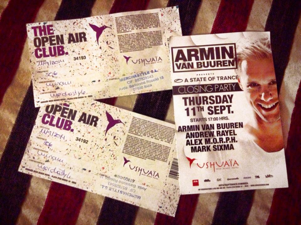 Ready for Armin Van Bureen's concert!