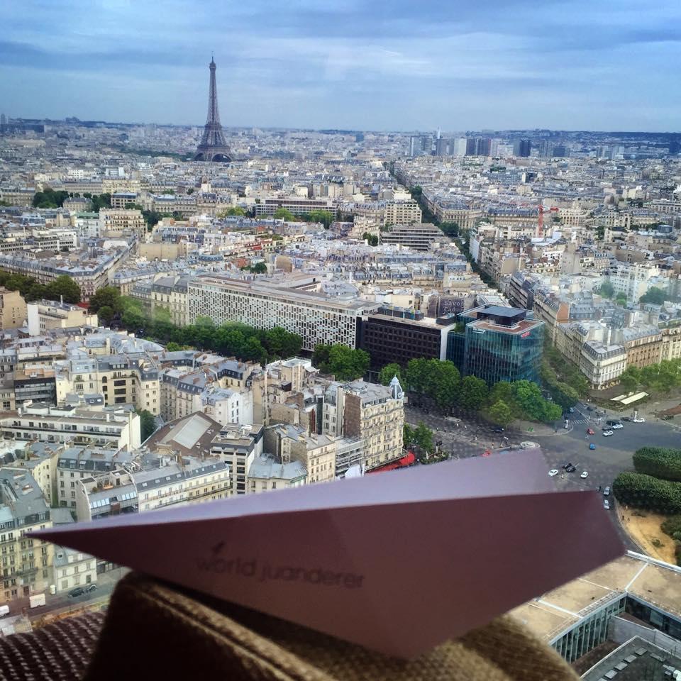 Skyline view of Paris