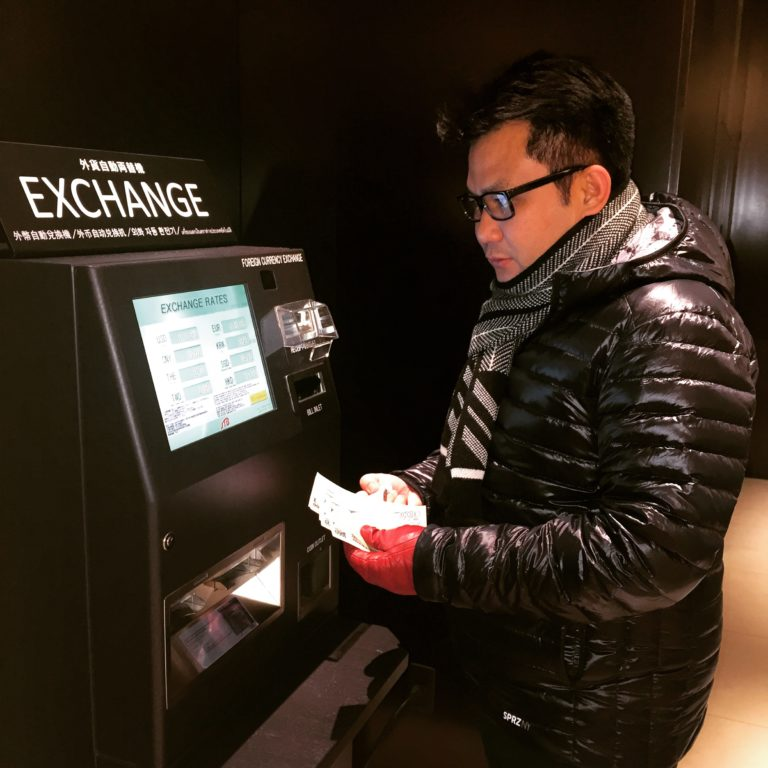 Money Exchange Machine