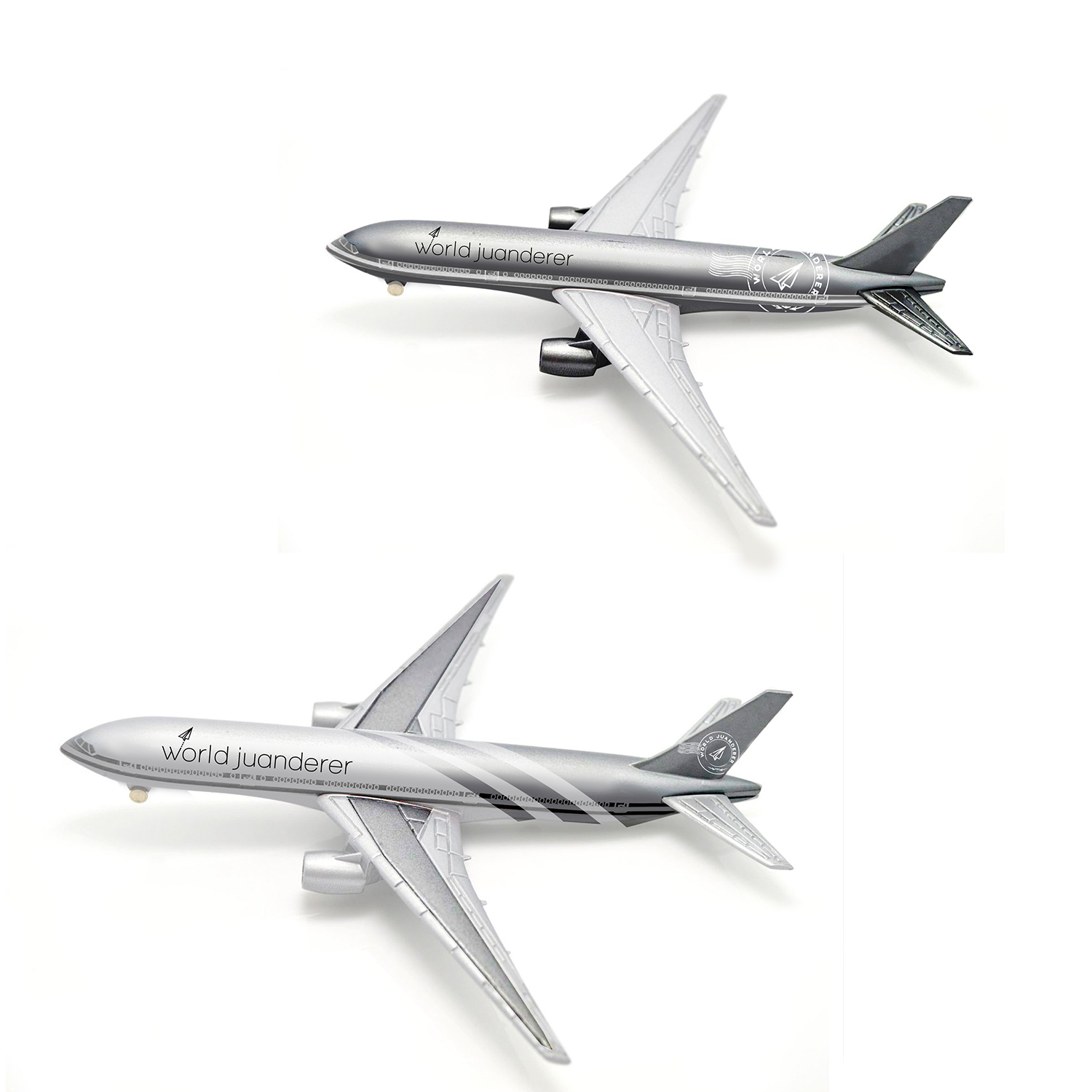 STAINLESS AIRPLANE