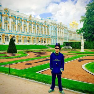 Catherine's Statue St. Petersburg
