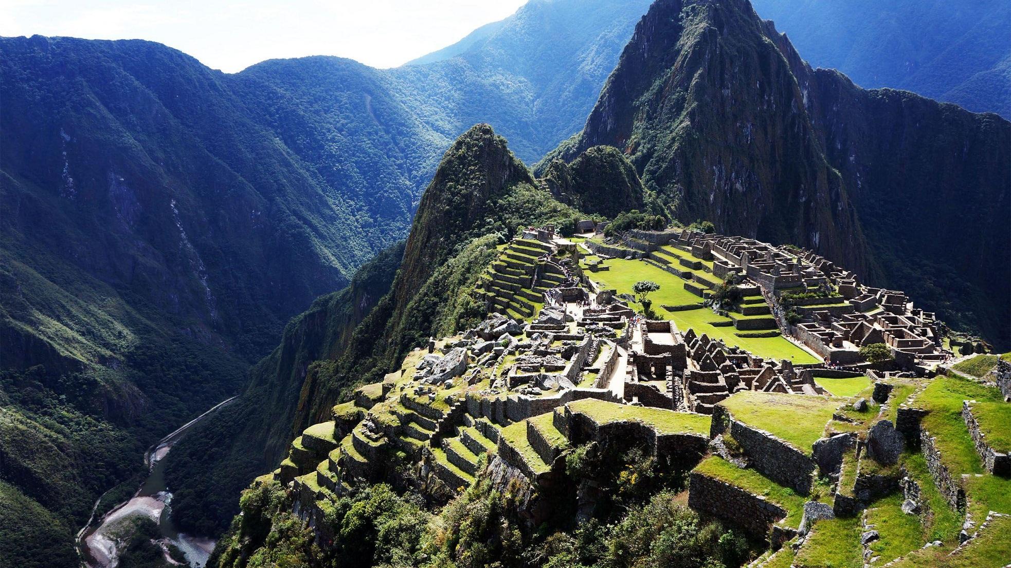 Machu Picchu Peru Landscape