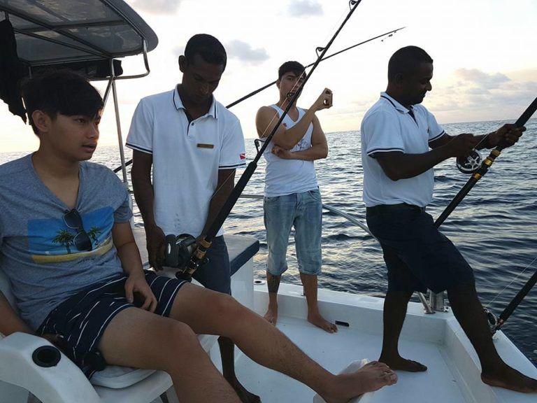 Fishing in Indian Ocean