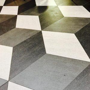 3D Flooring - Cubism